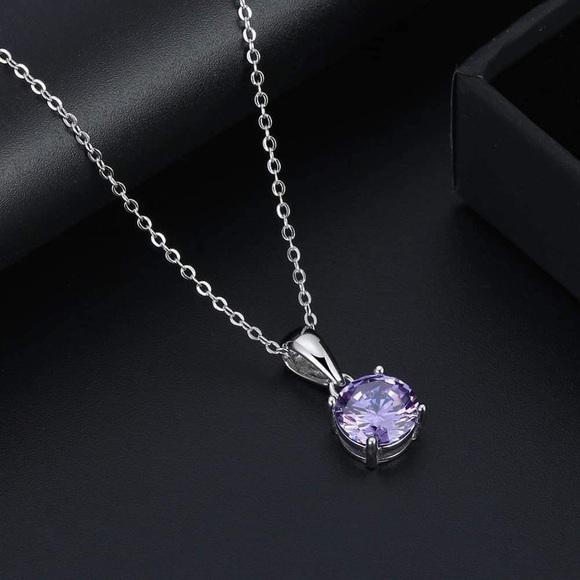 J&LBIJOUX Jewelry - S925 June (alexandrite) birthstone necklace